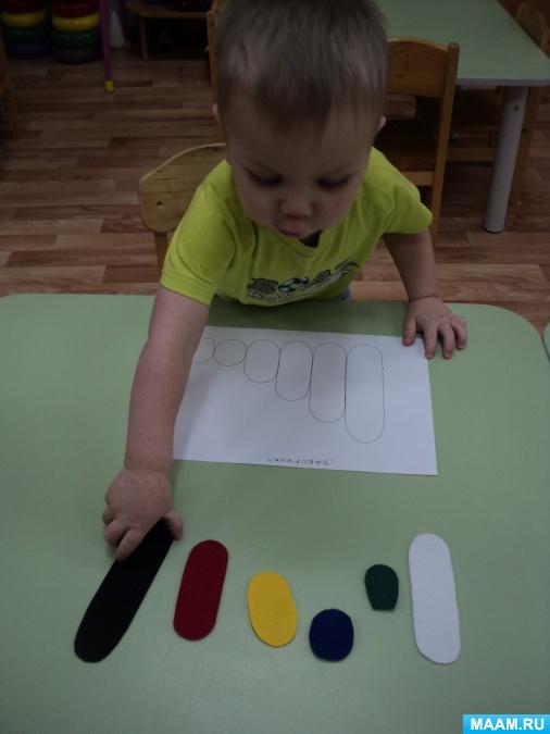 Дидактическая игра «Мягкая сенсорная мозаика» для детей с 2 лет